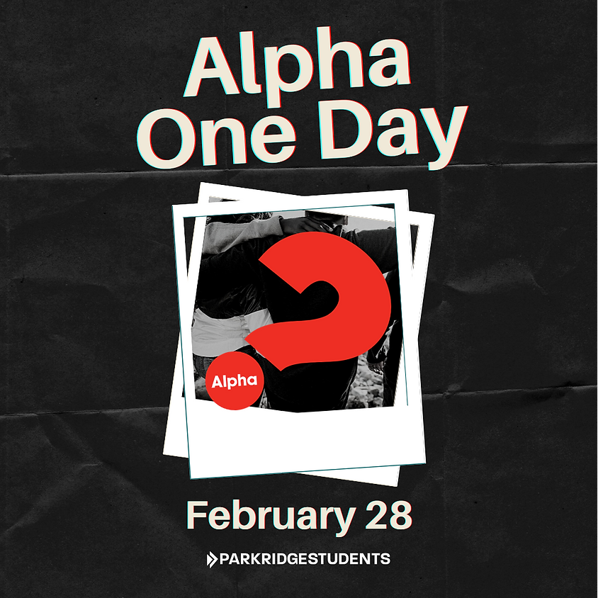Alpha One Day