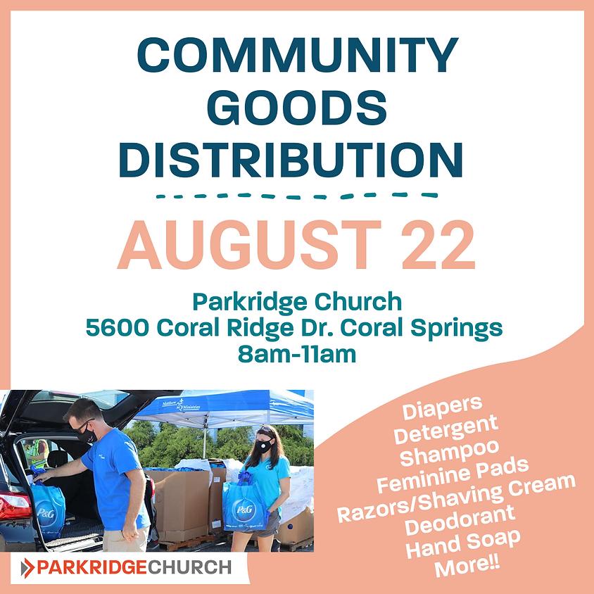 Community Goods Distribution