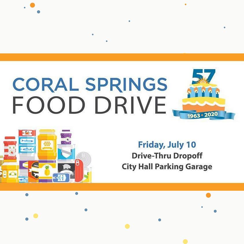 Coral Springs Food Drive
