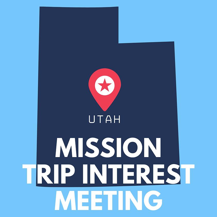 Utah Interest Meeting