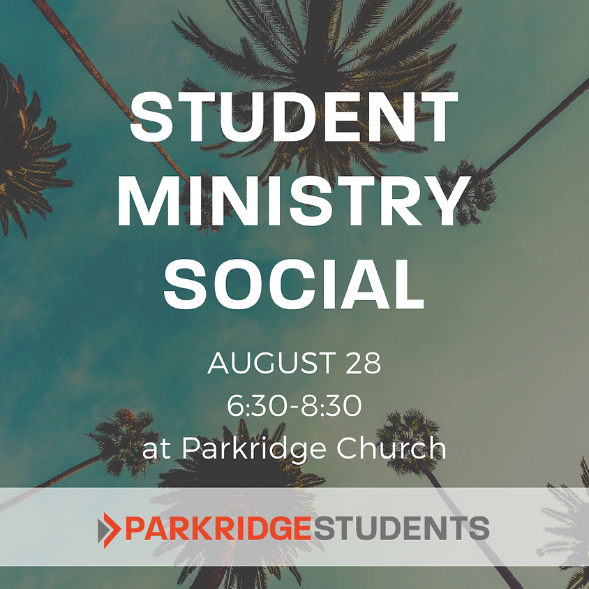 Student Ministry Social
