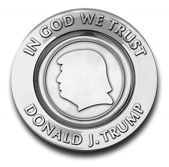 The 45th President Donald J. Trump Commemorative Plate