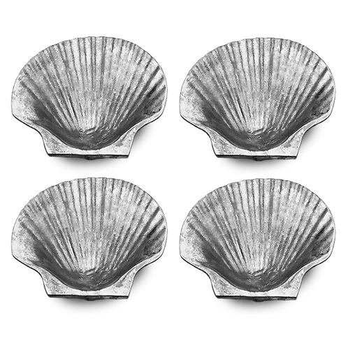 Baking Sea Shells (Set of 4) (Polished)