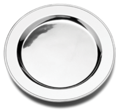 Round Tavern Bread Plate (Polished)