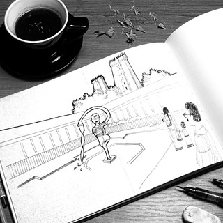 Illustration Book: Filter Coffee Man from Chettinad, Tamil Nadu