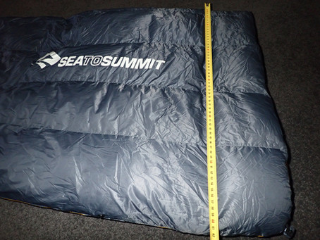 Quilt Review - Sea to Summit Ember EBIII