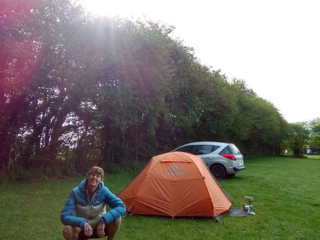 Camping and Riding in the Forest of Dean - May 2018