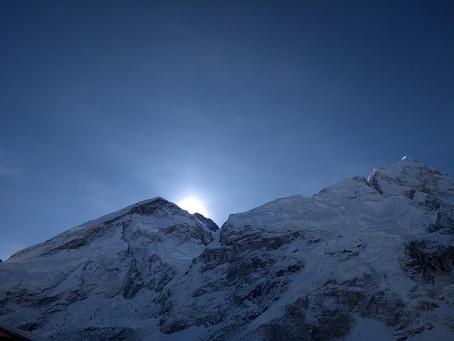 Everest Summit Bid by some of my fellow trekkers