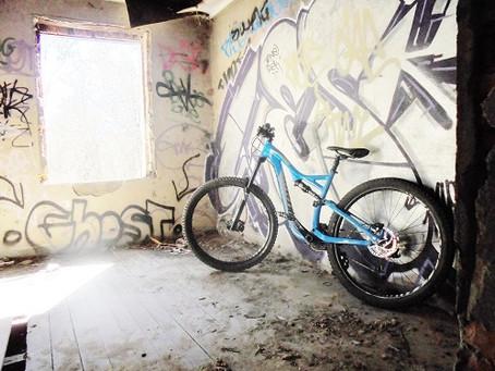 Mountain Biking at Hunchback Hill Bike Park