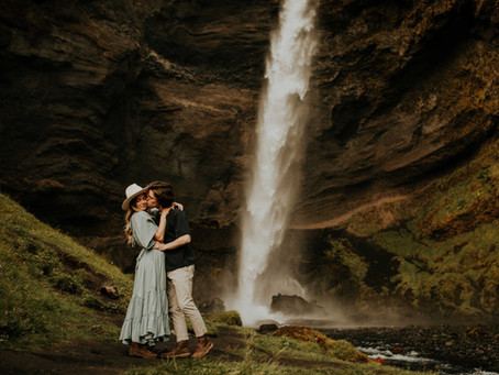 Séance couple en Islande