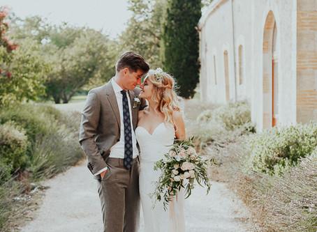 Mariage champêtre aux inspirations végétales au Château Plombis