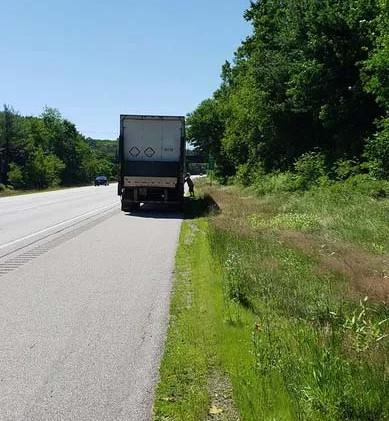 Semi Truck Roadside