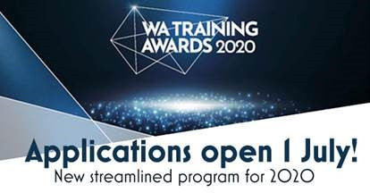 Applications for the WA training awards are OPEN