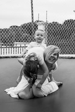 Heather, Victoria e Max