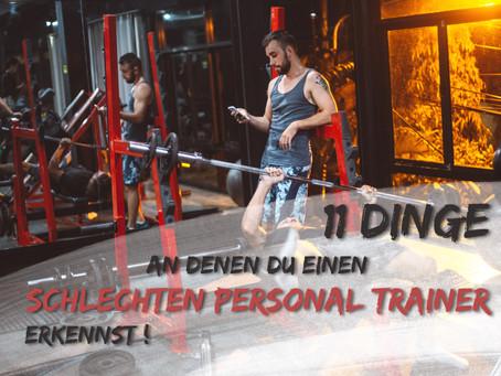 11 Dinge an denen du einen SCHLECHTEN PERSONAL TRAINER erkennst