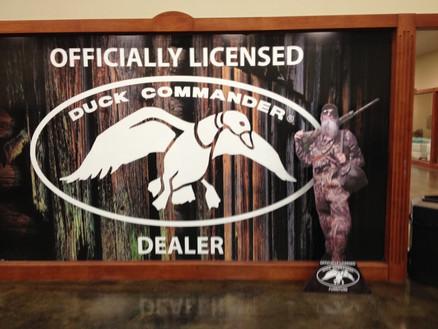 Duck Commander Window Cling