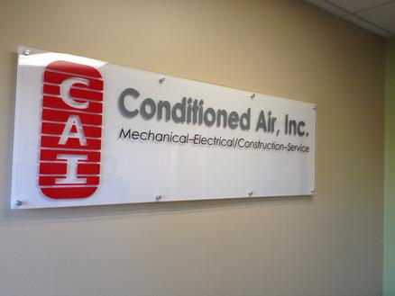 CAI Acrylic Signage