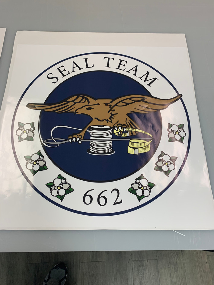 Seal Team Sticker