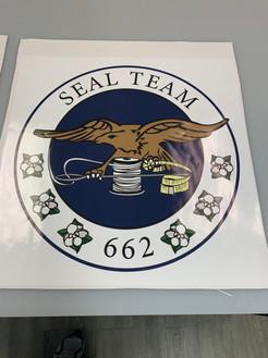 Seal Team Sticker
