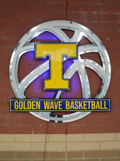 Tupelo Basketball Sign