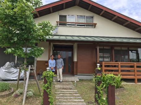 胡麻の小林邸を訪問しました