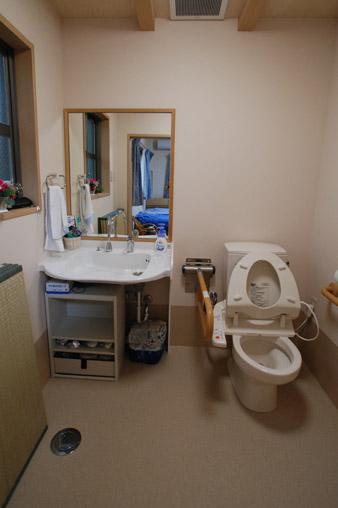 個室トイレ・洗面