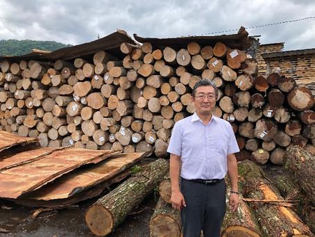 広葉樹の床材生産地・北海道、秋田へ行ってきました