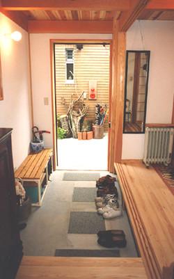栗の木コーポ-玄関