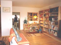 栗の木コーポ-居間