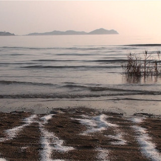 Returning the salt to the sea  (for the dissolution of all borders) 2014