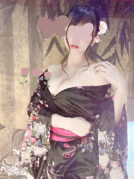 しなのの飲み物事情🧉花魁衣装で♥️