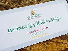 Massage Bristol gift voucher Claire Nutt Pregnancy Lomi