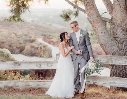 rustic eucalyptus wedding