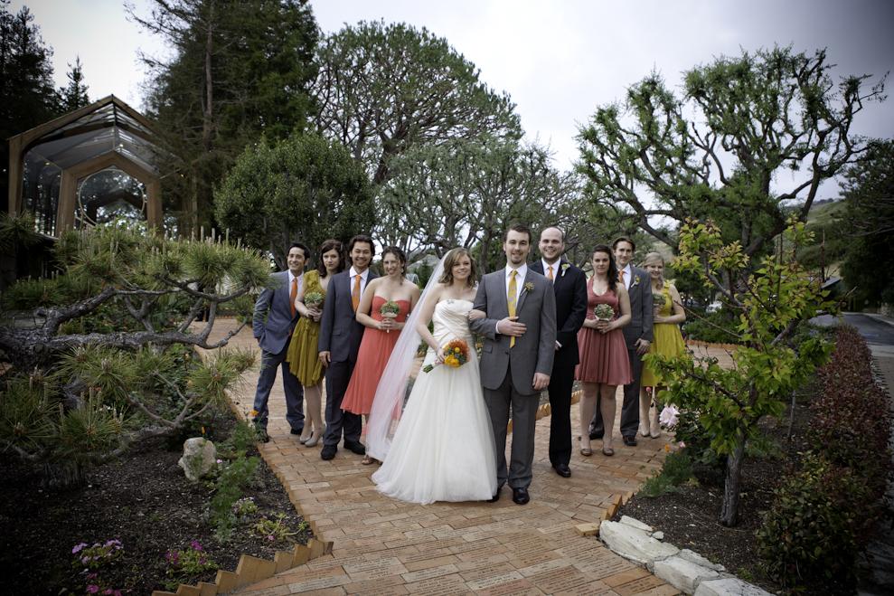 heidi and zach bridal party