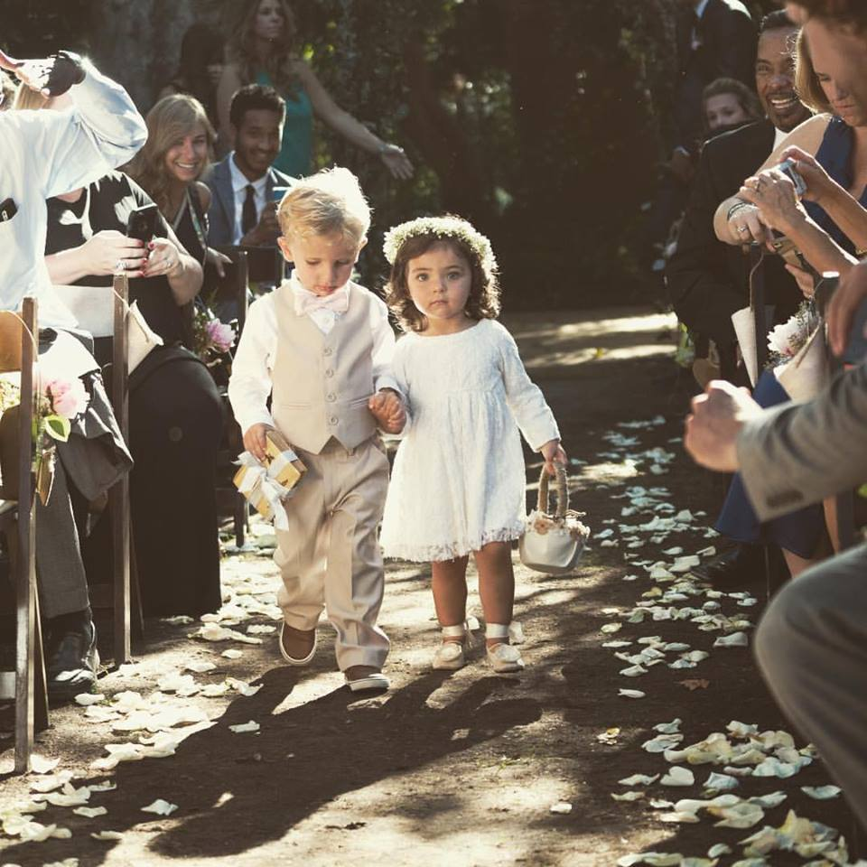 polus flower girl and ringbearer