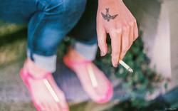 Cigarette & Bird