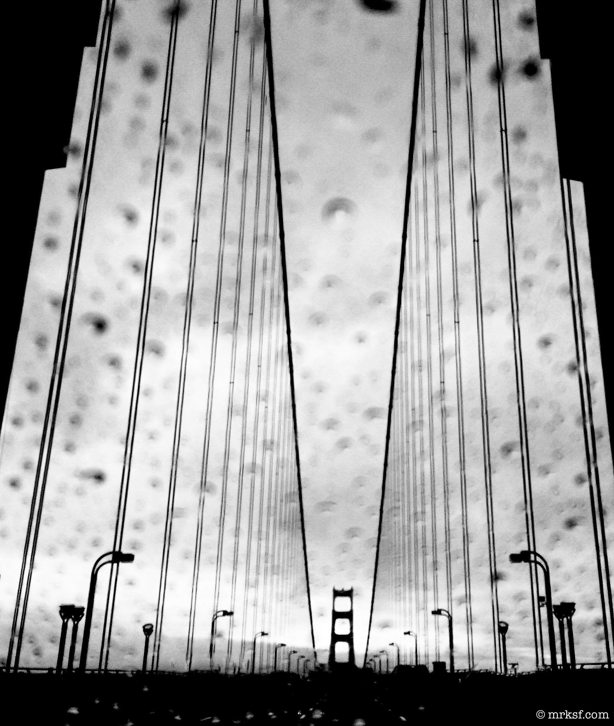 Gate in Rain