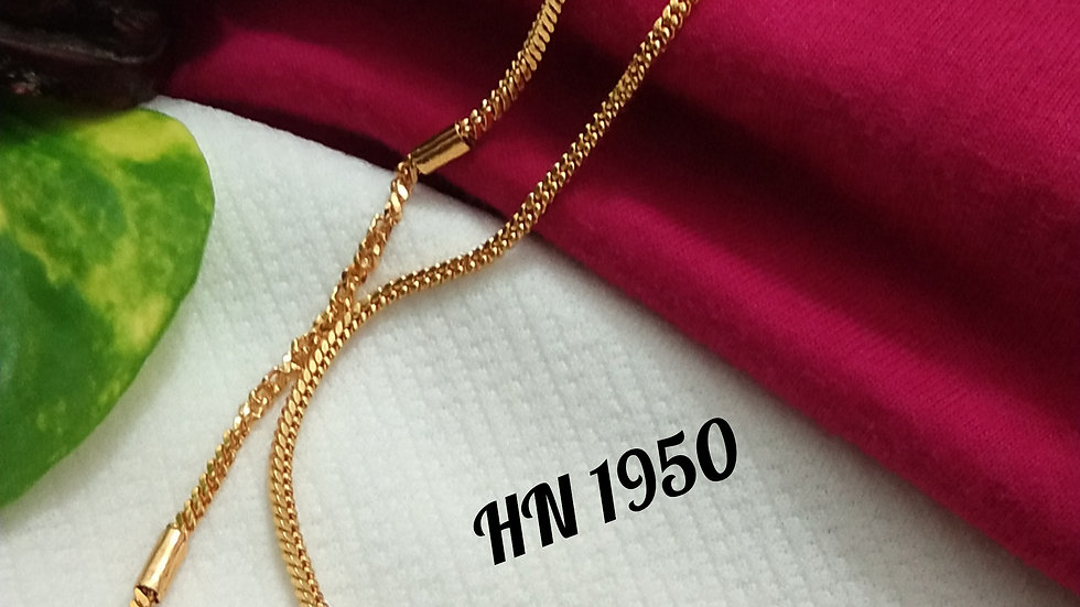 """Daily wear gold plated chain 18"""""""