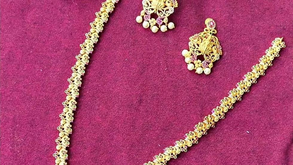 Party wear Laxmi haram