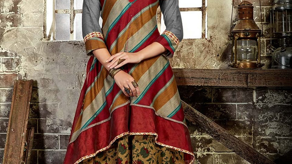 Roop Rani catalog dress