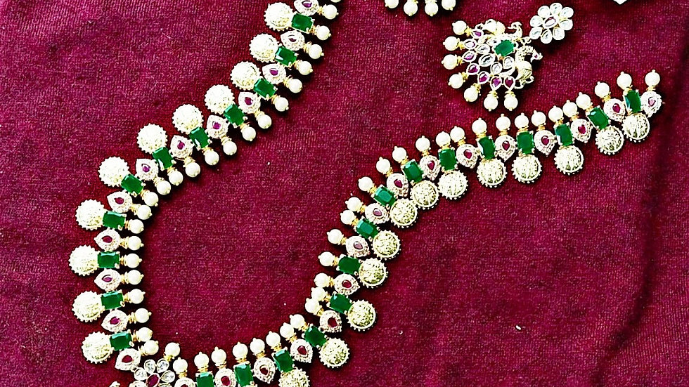 First quality Ram Parivar gold finish long haram