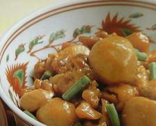 里芋と赤芽芋