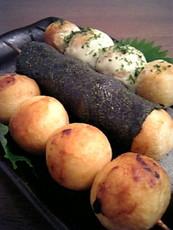 里芋の串団子