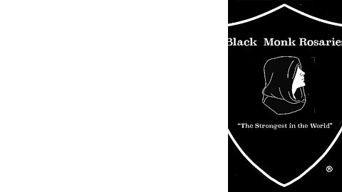 Black Monk Rosaries