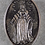 Thumbnail: Sancta Maria Rosary With Large Miraculous Medal Center