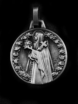 "St. Therese Medal 7/8"" - 22mm"
