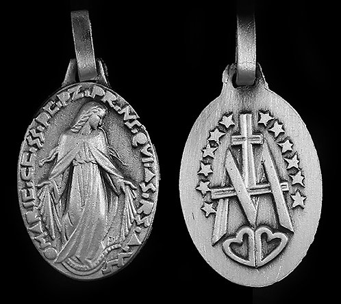 "Miraculous Medal - 7/8"" -  22mm"