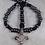 Thumbnail: Mark Koenig -  Kyrie (Hematite Rosary)Rue du Bac - Authentic Miraculous Medal