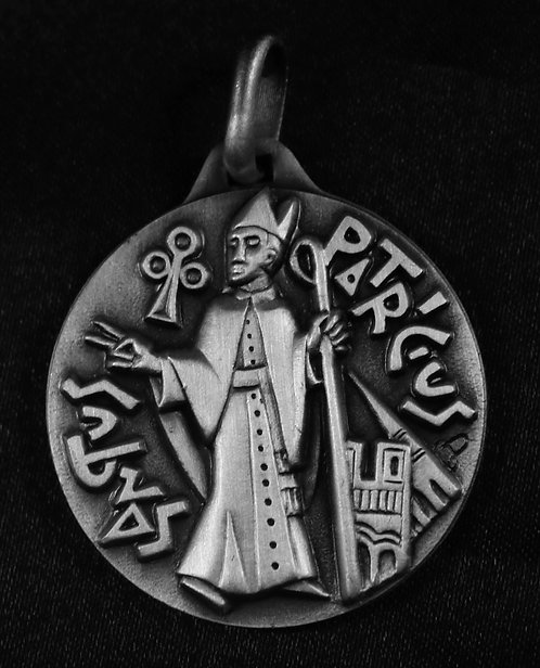 "St. Patrick Medal 1 1/4"" - 32mm"