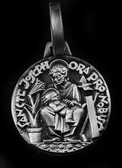 """St. Joseph Medal - 7/8"""" - 22mm"""